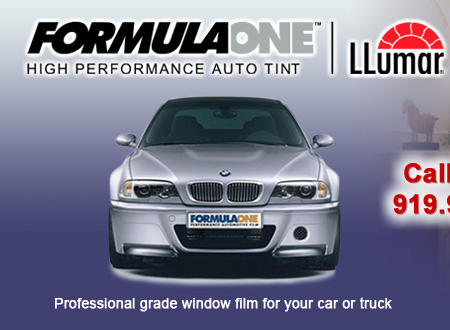 Formula One Tinting - Raleigh, NC